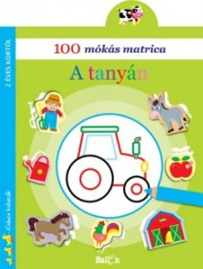 100 mókás matrica - A tanyán