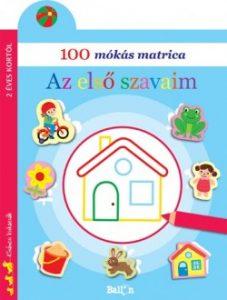 100 mókás matrica - Az első szavaim
