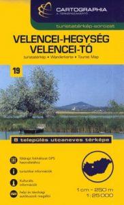 Velencei-hegység (SC),Velencei-tó térkép 1:25 000