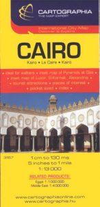 Kairó(Cairo) térkép 1:13 000 SC