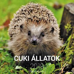Cuki állatok 2019 falinaptár