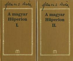 A magyar Hüperion I - II.(Hamvas 15-16.)