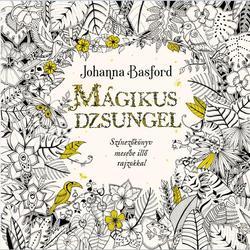 Mágikus dzsungel - Színezőkönyv