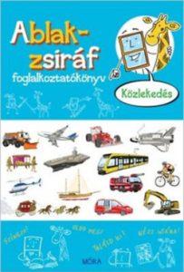 Ablak-zsiráf foglakoztatókönyv - közlekedés