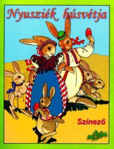 Nyusziék húsvétja - Színező