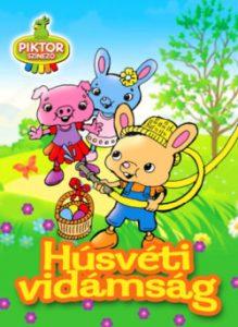 Húsvéti vidámság - Piktor színező