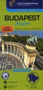 Budapest Comfort térkép 1:30 000