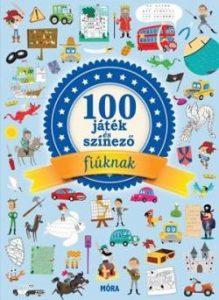 100 játék és színező - fiúknak