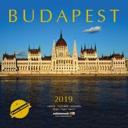 Budapest 2019 naptár
