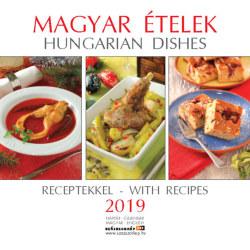 Magyar ételek 2019 naptár