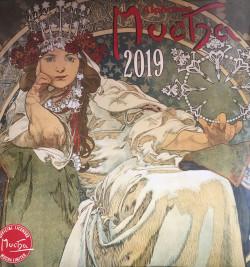 Alphonse Mucha lemeznaptár 2019