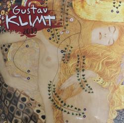 Gustav Klimt lemeznaptár 2019