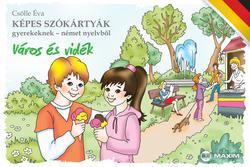 Képes szókártyák német - Város és vidék