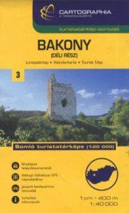 Bakony(déli rész) turistatérkép 1:40 000 SC