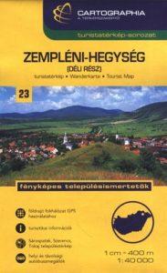 Zempléni-hegység(dél) térkép SC 1:40 000
