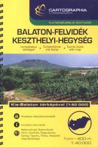 Balaton-felvidék,Keszthelyi-hegység turistakalauz SC 1:40 000