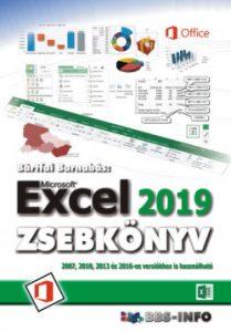 Excel zsebkönyv 2019