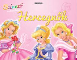 Hercegnők - Színező matricákkal