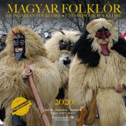 Magyar folklór 2020 naptár