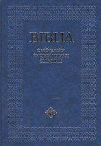 Biblia (Ószövetségi és Újszövetségi Szentírás) bordó,fekete