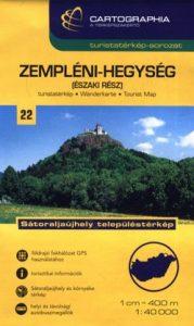Zempléni-hegység(észak) térkép SC 1:40 000