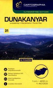 Dunakanyar turistatérkép 1:40000 SC