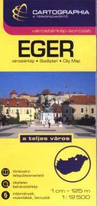 Eger várostérkép 1:12 500 SC