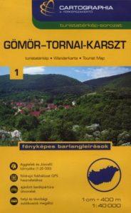 Gömör-Tornai-karszt turistatérkép 1:40 0000