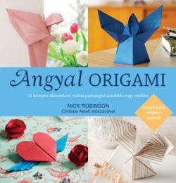 Angyal origami - 15 gyönyörű ajándék origami papírral