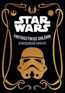 Star Wars - stresszoldó kifestő