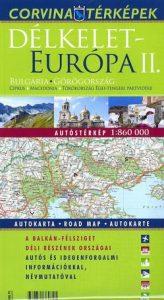 Délkelet-Európa II. térkép