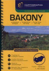 Bakony turistakalauz SC 1:40 000