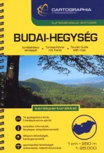 Budai-hegység turistakalauz SC 1:25000