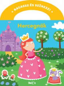 Hercegnők - Ragassz és színezz!