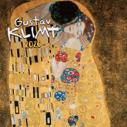 Gustav Klimt lemeznaptár 2020