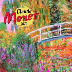 Claude Monet lemeznaptár 2020