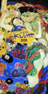 Gustav Klimt falinaptár 2020