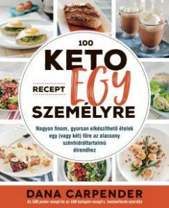 100 keto recept egy személyre