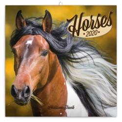 Horses lemeznaptár 2020
