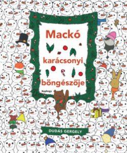 Mackó karácsonyi böngésző