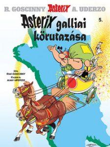 Asterix 5 - Asterix galliai körutazása