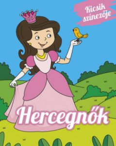 Hercegnők - Kicsik színezője