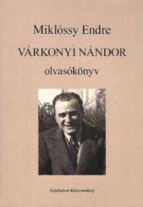 Várkonyi Nándor olvasókönyv
