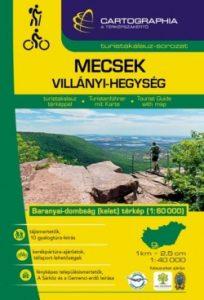 Mecsek, Villányi-hegység turista kalauz SC