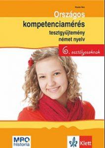 Országos kompetenciamérés tesztgyűjtemény német 6. osztályosoknak