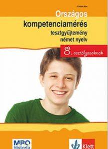Országos kompetenciamérés tesztgyűjtemény német 8. osztályosoknak