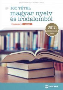160 tétel magyar nyelv és irodalomból