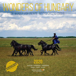 Wonders of Hungary 2020 naptár