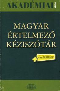 Magyar értelmező kéziszótár (zöld)